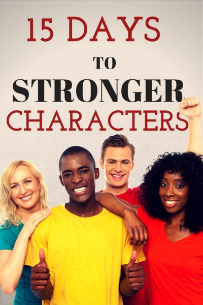 15 Days to Stronger Characters series. www.darcypattison.com