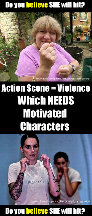 Tea Party or Fist Fights? Why Action Scenes are Hard to Write!