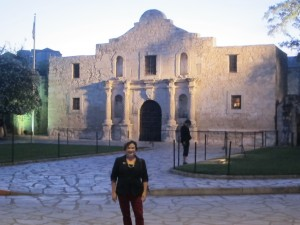 Darcy at the Alamo