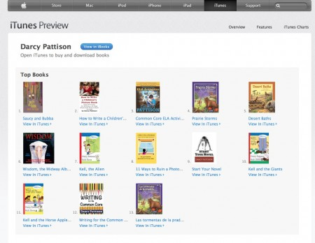 Darcy Pattison's books on the iBookStore