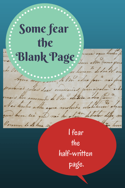 fear of half-written page