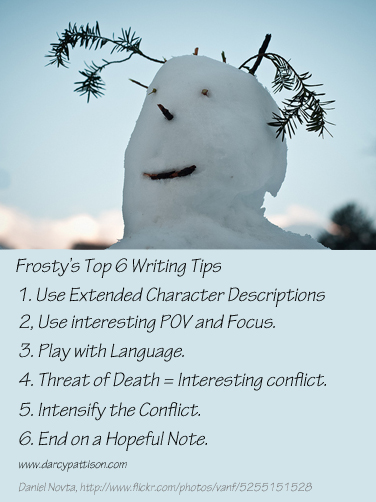 Frosty's Top 6 Writing Tips