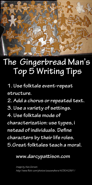 The Gingerbread Man's Top 5 Writing Tips