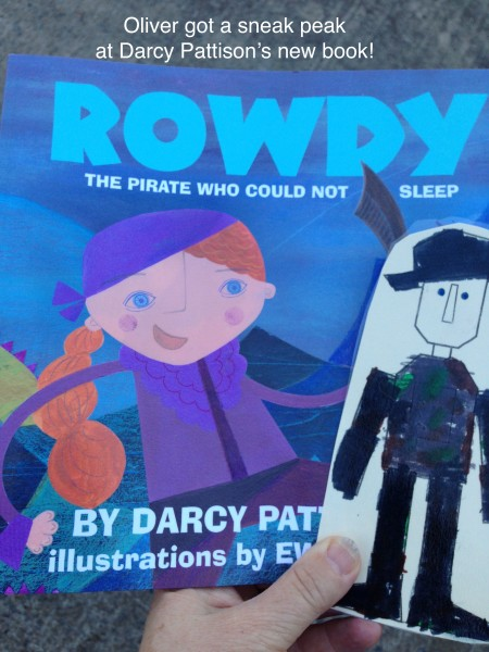 Oliver Meets Rowdy, Darcy Pattison's Summer 2016 book. | DarcyPattison.com