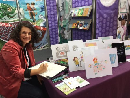 Sarah Baker, SCBWI at Bologna Book Fair