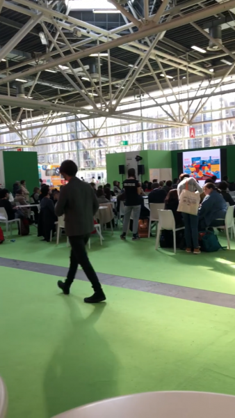 Interior of Bologna Children's Book Fair 2018
