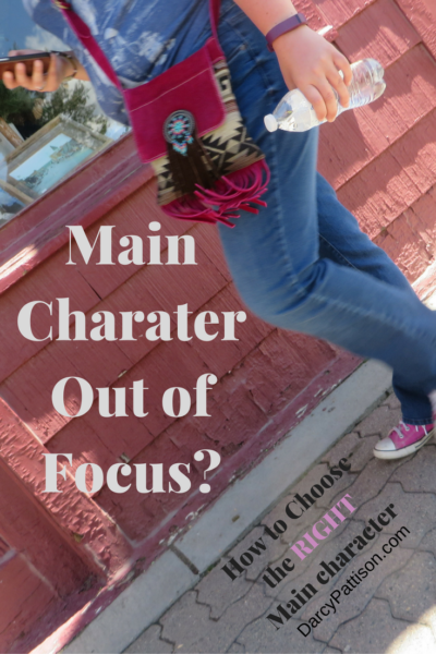 Struggling to decide on a main characters? Two tips to help you nail it! - DarcyPattison.com
