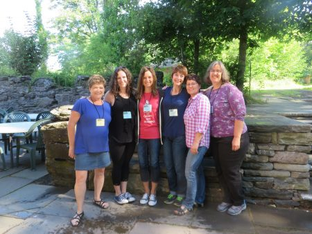 Participants in the 2016 Master Novel Class, Highlights Foundation. | DarcyPattison.com