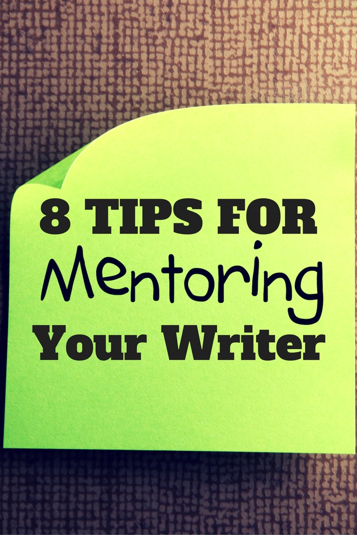 Want to help your spouse learn to write? Or help your child? Here's how you can be the mentor they need. | DarcyPattison.com