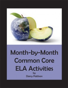 Month by Month Common Core Writing: Great for substitute teachers or those odd days when you need a filler lesson. | Mims House Books