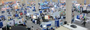The 2013 National Science Teachers Association Convention exhibitor's hall, San Antonio, TX