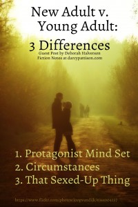 New Adult v. Young Adult: 3 Differences | Fiction Notes by Darcy Pattison