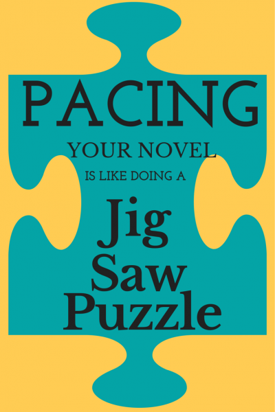 Story Events must fit togehter like a jigsaw puzzle to create great pacing.