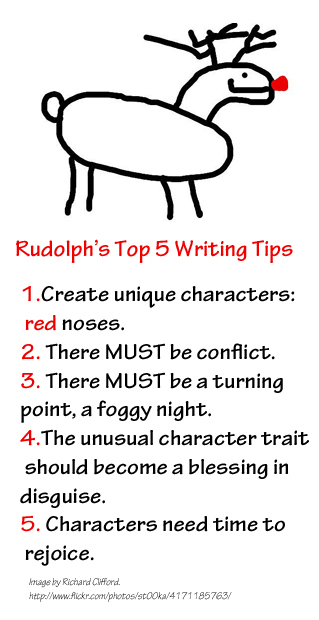 Rudolph's Top 5 Writing Tips