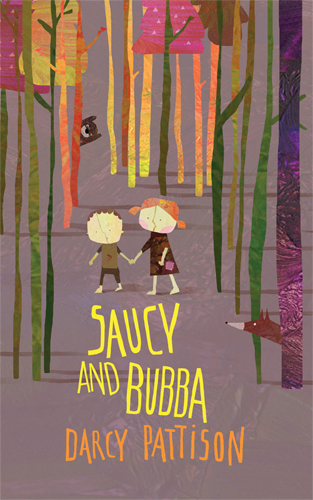 Saucy and Bubba. A Contemporary Hansel and Gretel Story.