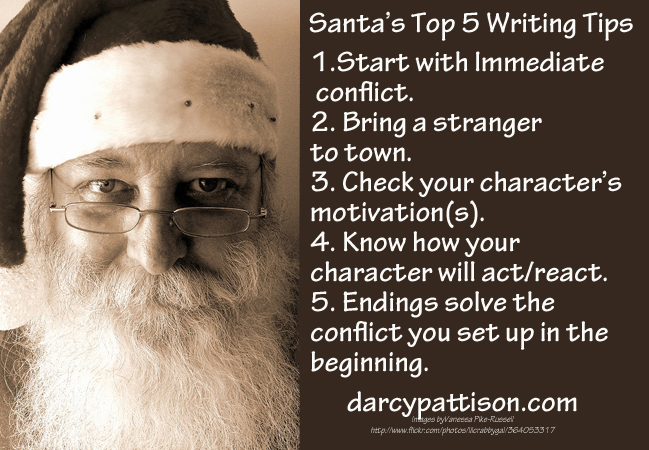 Santa Claus' Top 5 Writing Tips