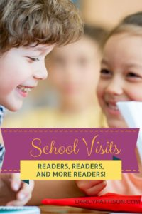 Need Readers? Try a School Visit | DarcyPattison.com