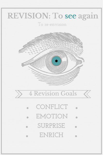 4 Revision Goals: from Darcy Pattison's Fiction Notes blog at darcypattison.com