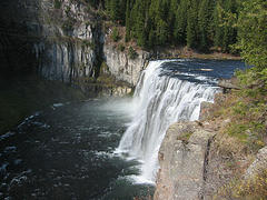 Upper Mesa Falls, Henry's Fork, Snake River, Idaho. Near the location for our Idaho retreat.