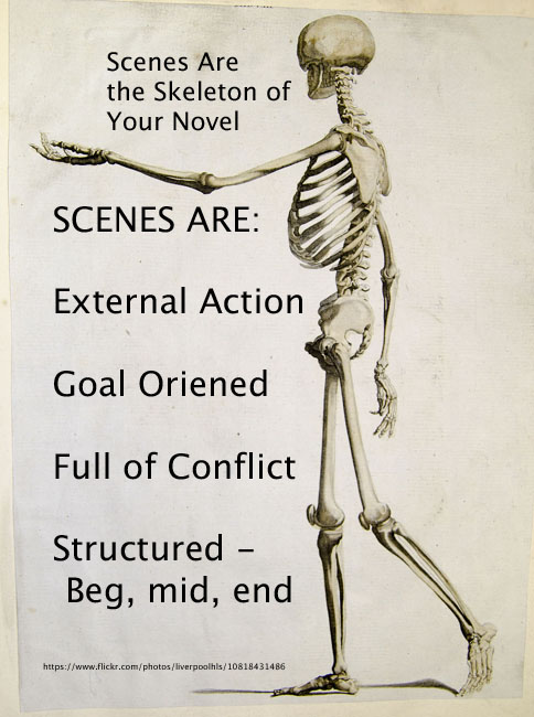 Scenes: The Skeleton of a Novel
