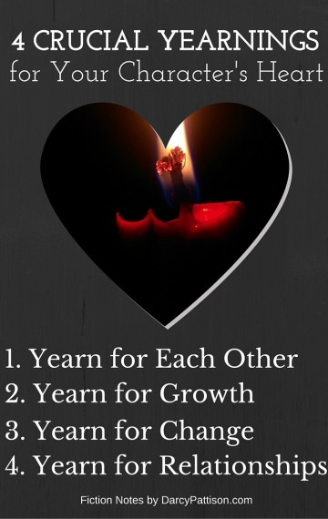 4 Crucial Yearnings to Enrich and Deepen Your Characters