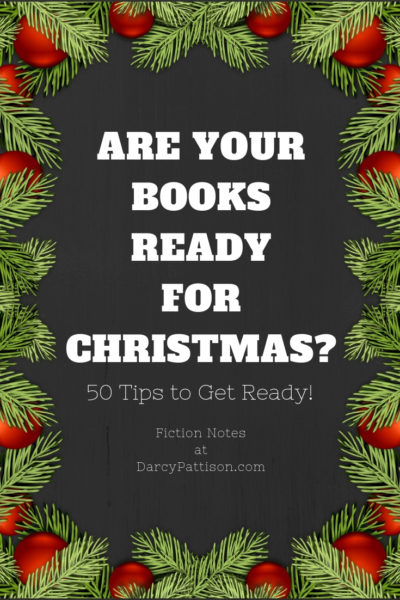 Book Marketing for the Holidays! | DarcyPattison.com