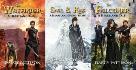 Charismatic YA fantasy: The Wayfinder and The Falconer by Darcy Pattison