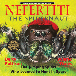 Nefertiti the Spidernaut Cover